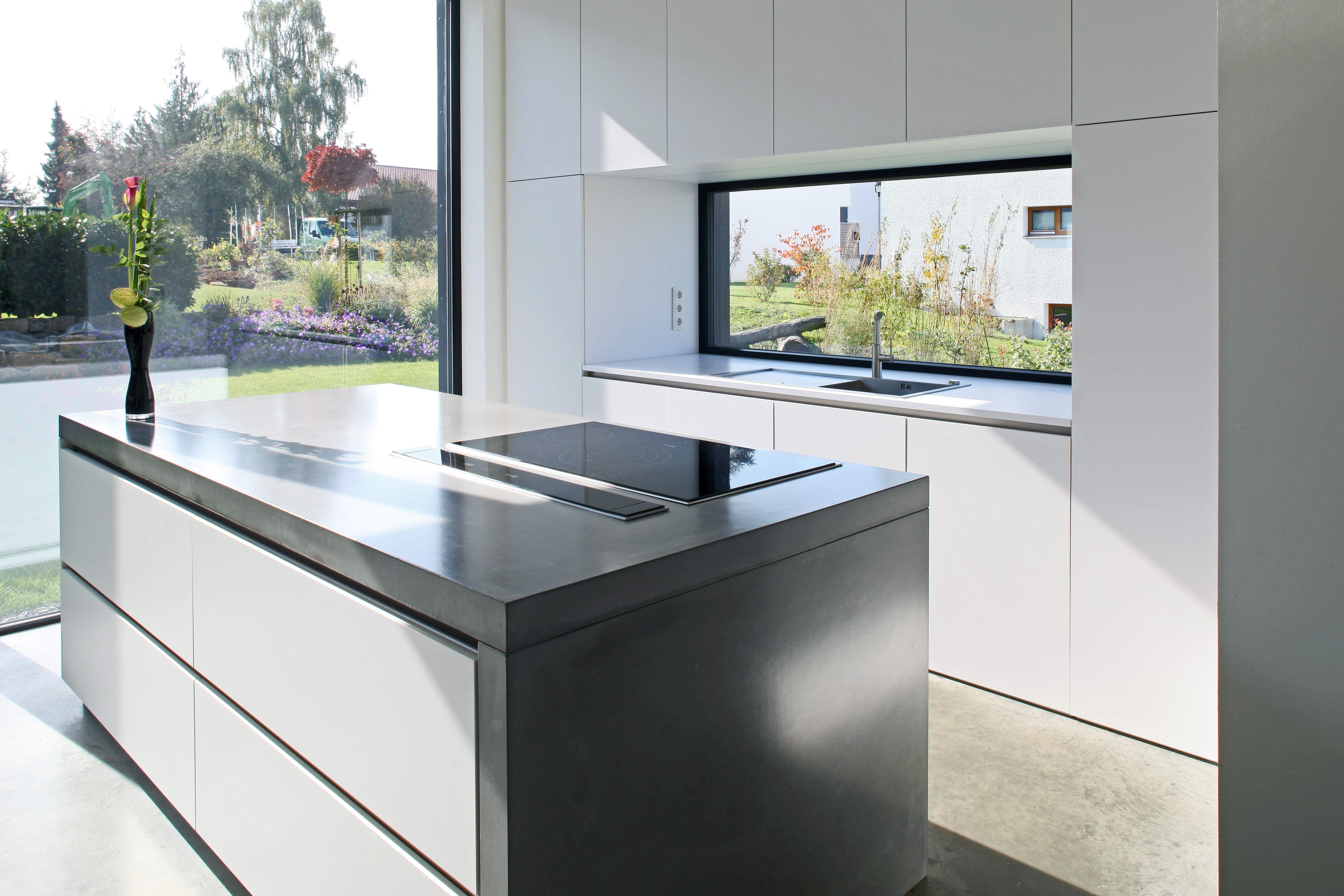 Kerstin Philipp küchenarbeitsplatte aus beton architektin kerstin philipp big