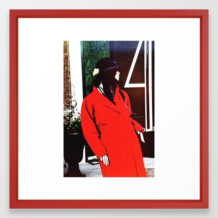 buy plastic chic framed art print by karen stahlros photography