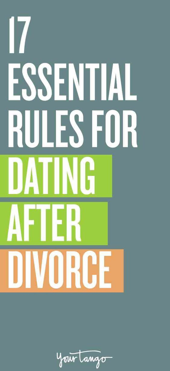 How to begin dating after a divorce