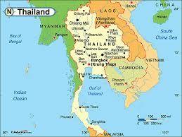 Image Result For Thailand Political Map Maps Pinterest