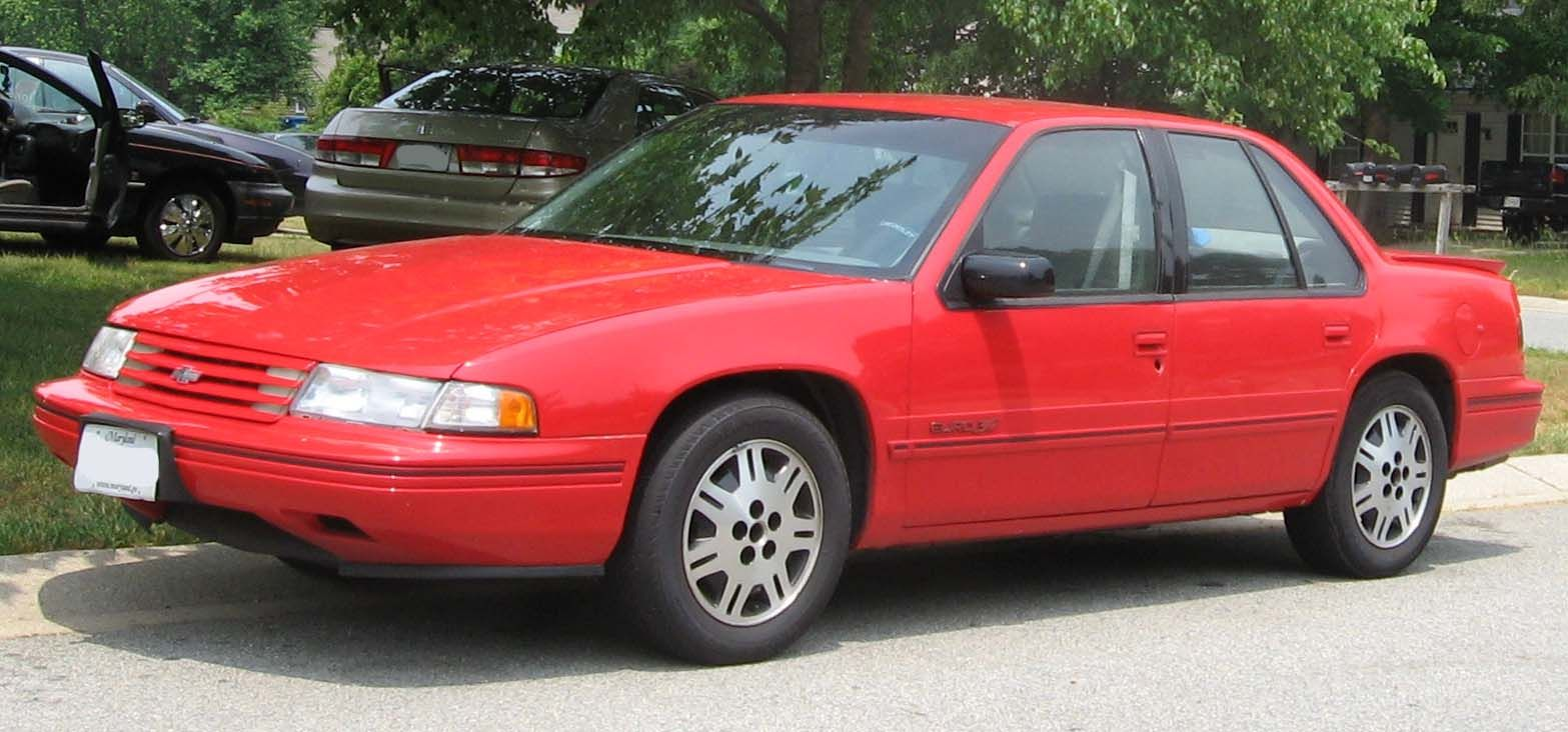 My 5th Car A 1992 Chevrolet Lumina Euro I Owned It From 1993 To