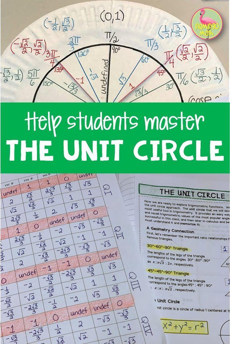 Circle Precalculus Unit 2020