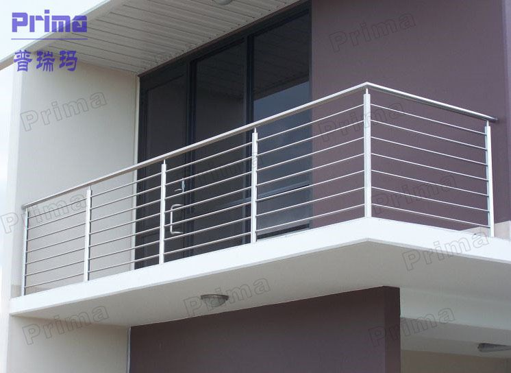 Modern high quality galvanized balcony 746 for Modern balcony railing design
