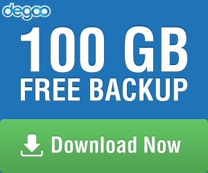 Degoo 100gb Free Backup Cloud Drive Online Backup Backup