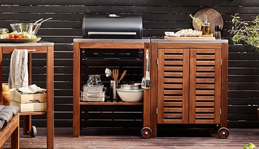 APPLARO/KLASEN Barbecue With Storage $400 Total