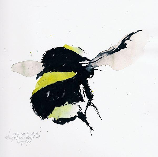 bee printed