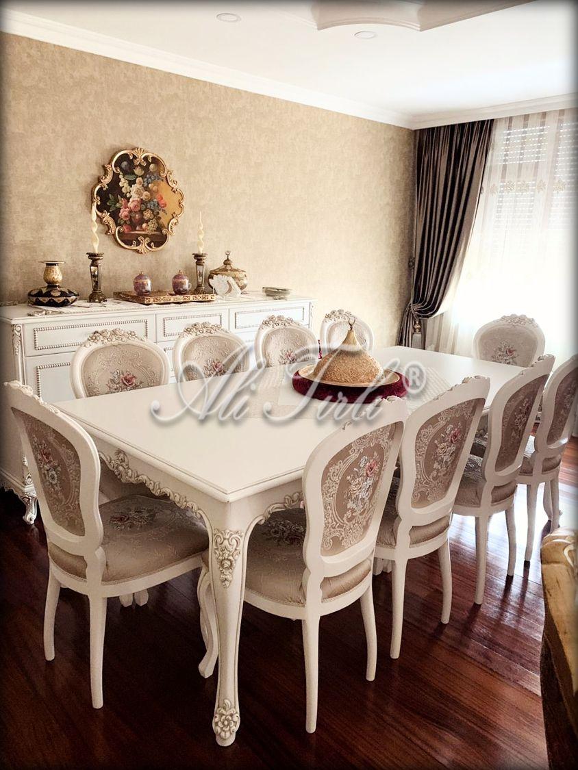 Victoria Yemek Odasi Takimi Mobilya Koltuklar Yemek Odasi Takimlari