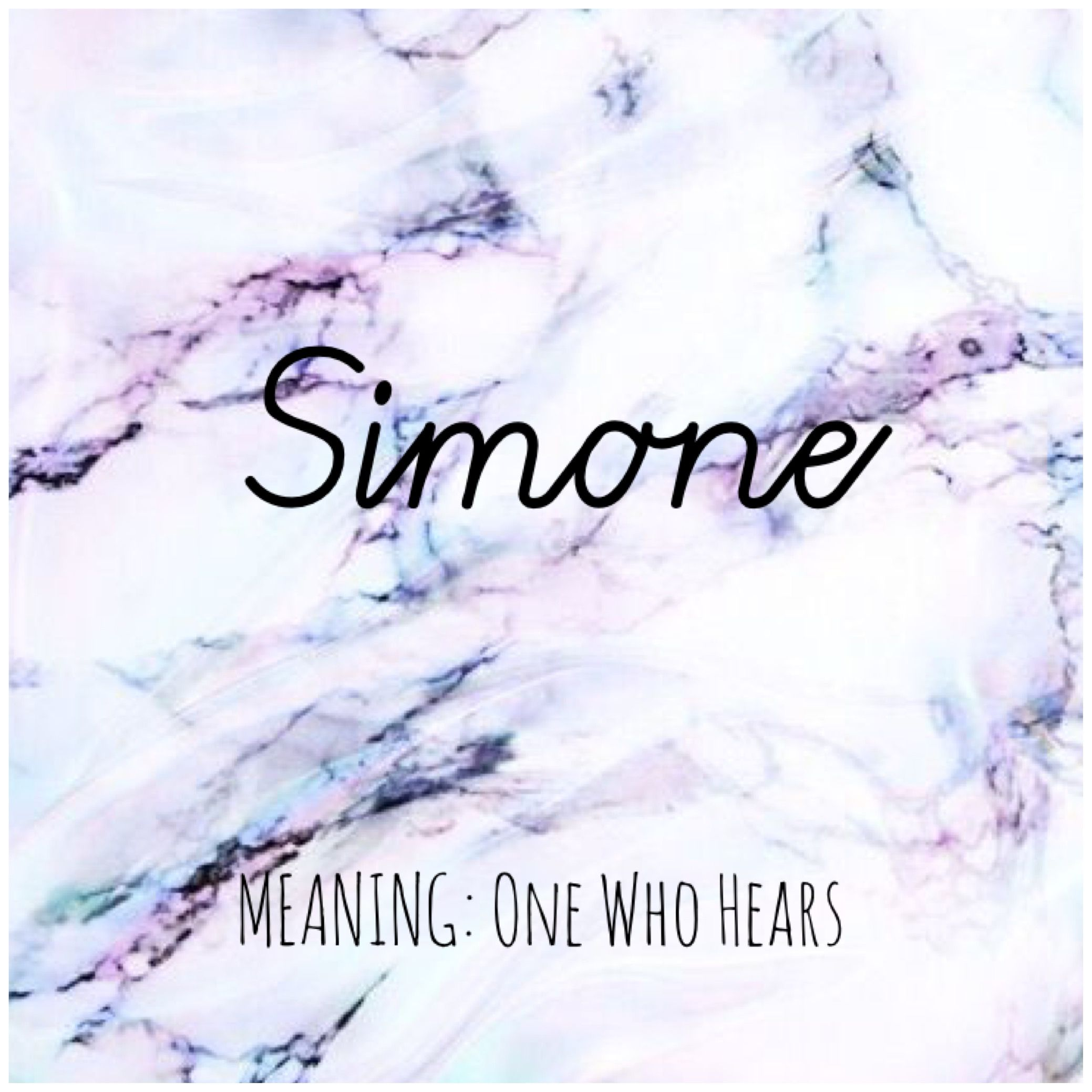 Simone Names Simone Babynames Baby Names Meanings