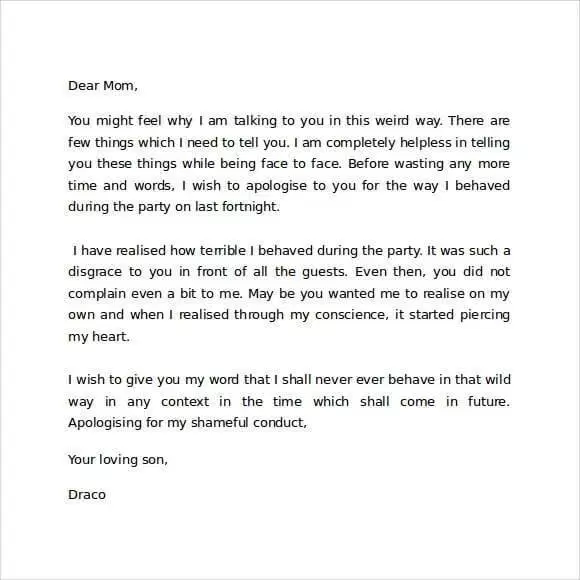 Contoh Surat Pribadi Untuk Orang Tua Dalam Bahasa Inggris Surat Kepribadian Orang Tua