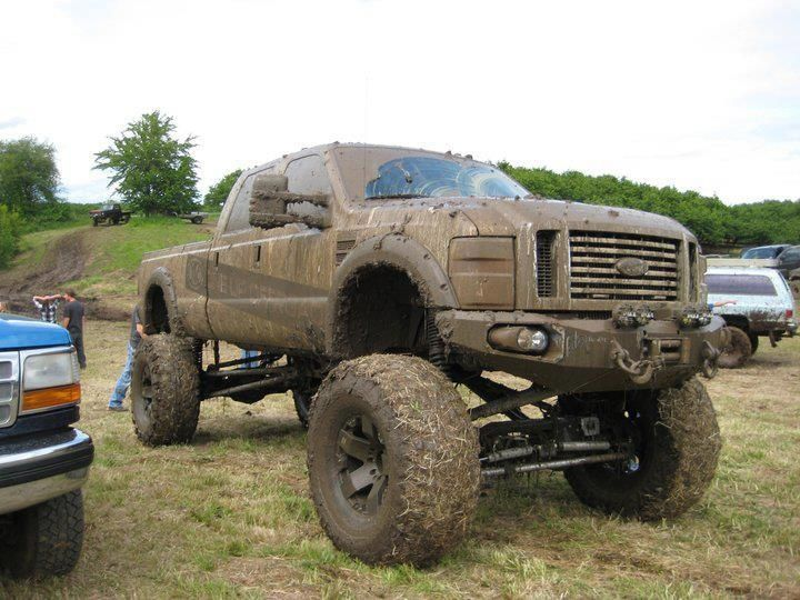 Real muddy monster lifted ford mudder truck in the grime ready for real muddy monster lifted ford mudder truck in the grime ready for a cancun rain sciox Images