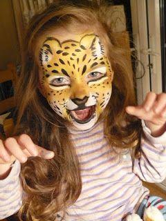 Maremi S Face And Body Painting Face Painting Jaguar Pantera Tygrys Malowanie Twarzy Wzory Face Painting Painting Animal Tattoo