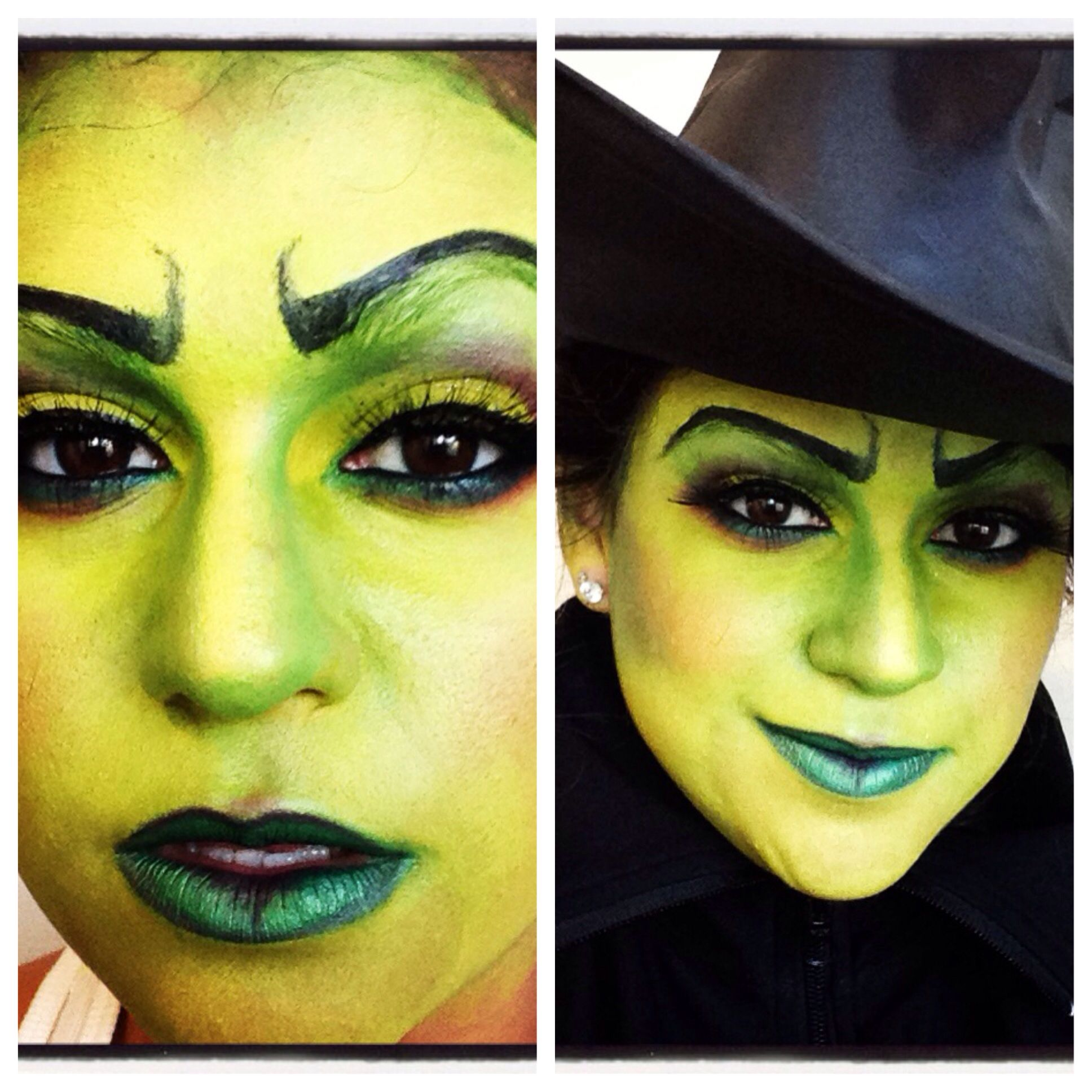 halloween#makeup#wicked witch of the east # sephoraselfie # green ...