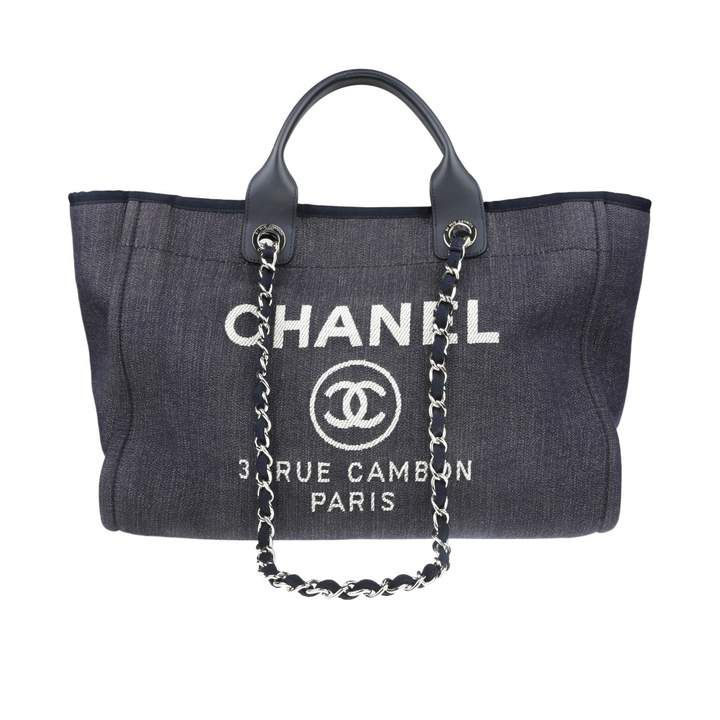 Deauville 24h bag Chanel, Bags, Chanel deauville tote bag