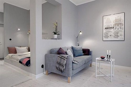 Kleine studenten studio inrichten - Ideeën voor kamer. | Pinterest ...