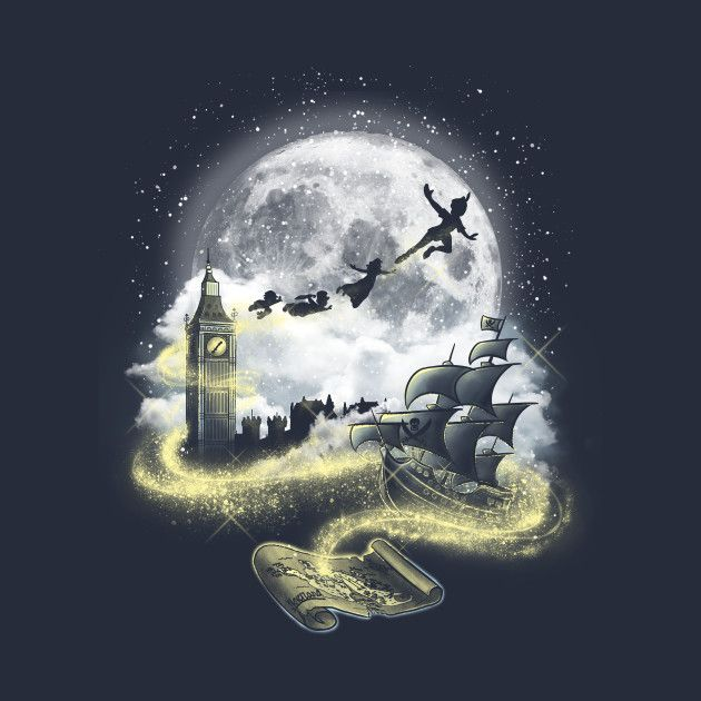 Check out this awesome 'Pixie dust road' design on @TeePublic!