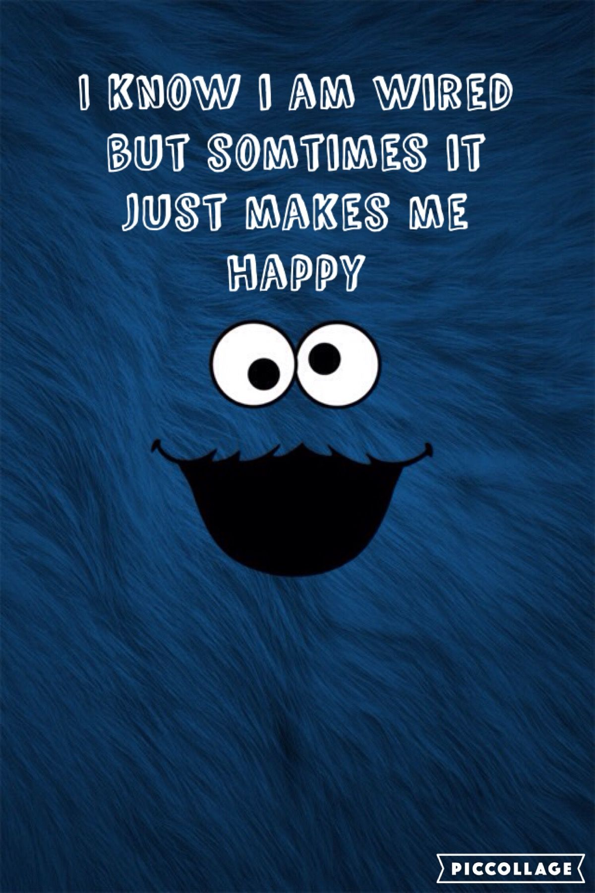 Cute Quotes Sesame Street Wallpaper Iphone 4s Cookie Monster Streets Jim Henson Shake Monsters Pretty