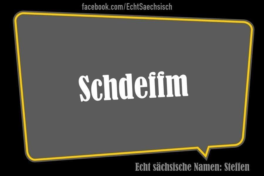 Sächsische Vornamen