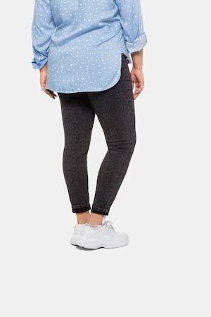 Skinny-Jeans, Damen, dunkelgrau, Baumwolle/Polyester/Viskose, Studio Untold