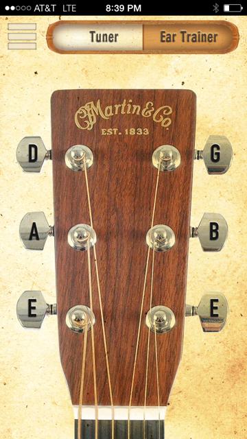 Martin tuner app electricguitar Guitar tuning, Guitar