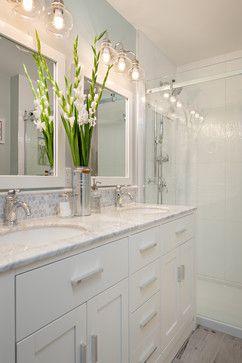 Custom Bathroom Vanities Vancouver Bc backsplash detail above vanity steveston townhouse - traditional