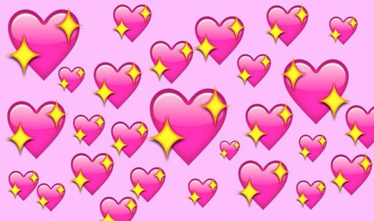 What Does Each Emoji Heart Mean Instagram Breaks It Down For Us Based On Their Most Common Hashtags Pink Heart Emoji Emoji Backgrounds Heart Emoji