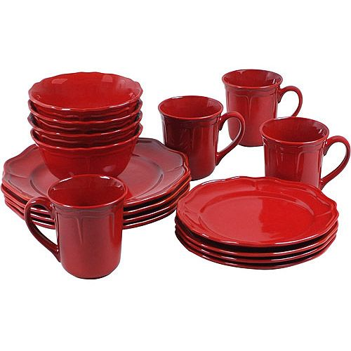 Corelle Dinnerware Red Homes And Gardens Simply