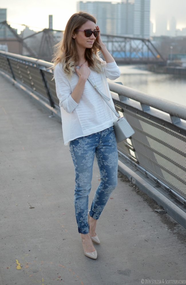 Printed Denim   Stylish and Scatterbrained