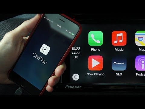 Alpine i109 InDash Restyle System with Apple Car Play