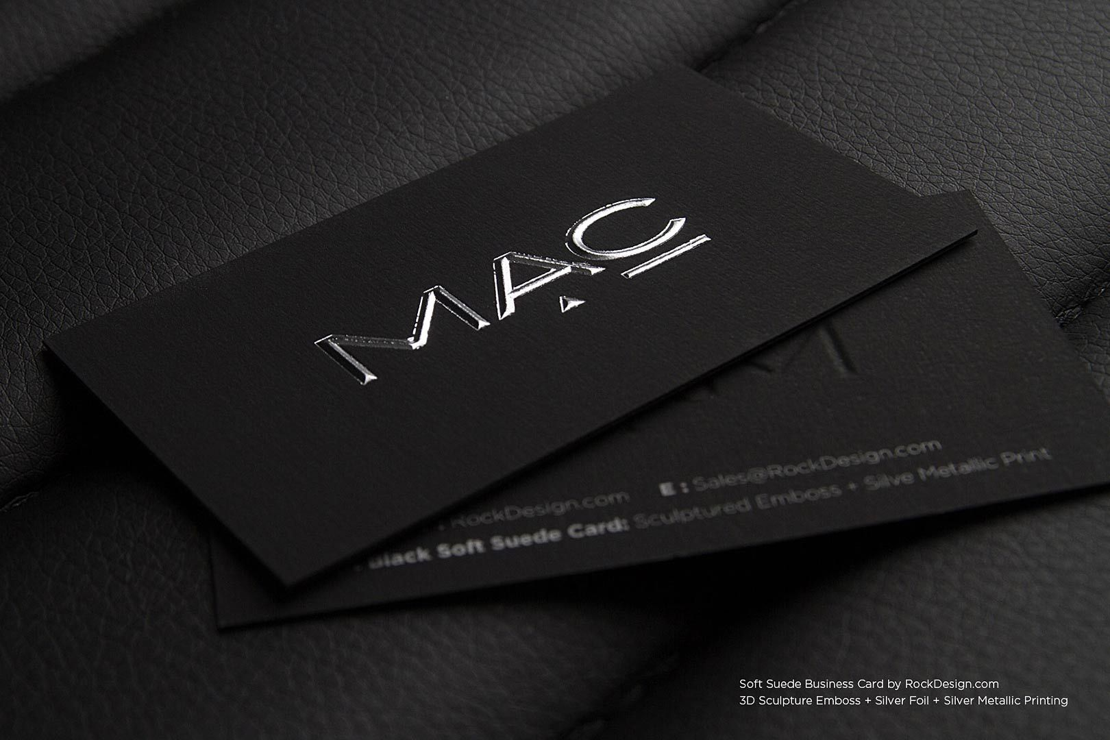 Soft suede business cards rockdesign luxury business card soft suede business cards rockdesign luxury business card printing colourmoves