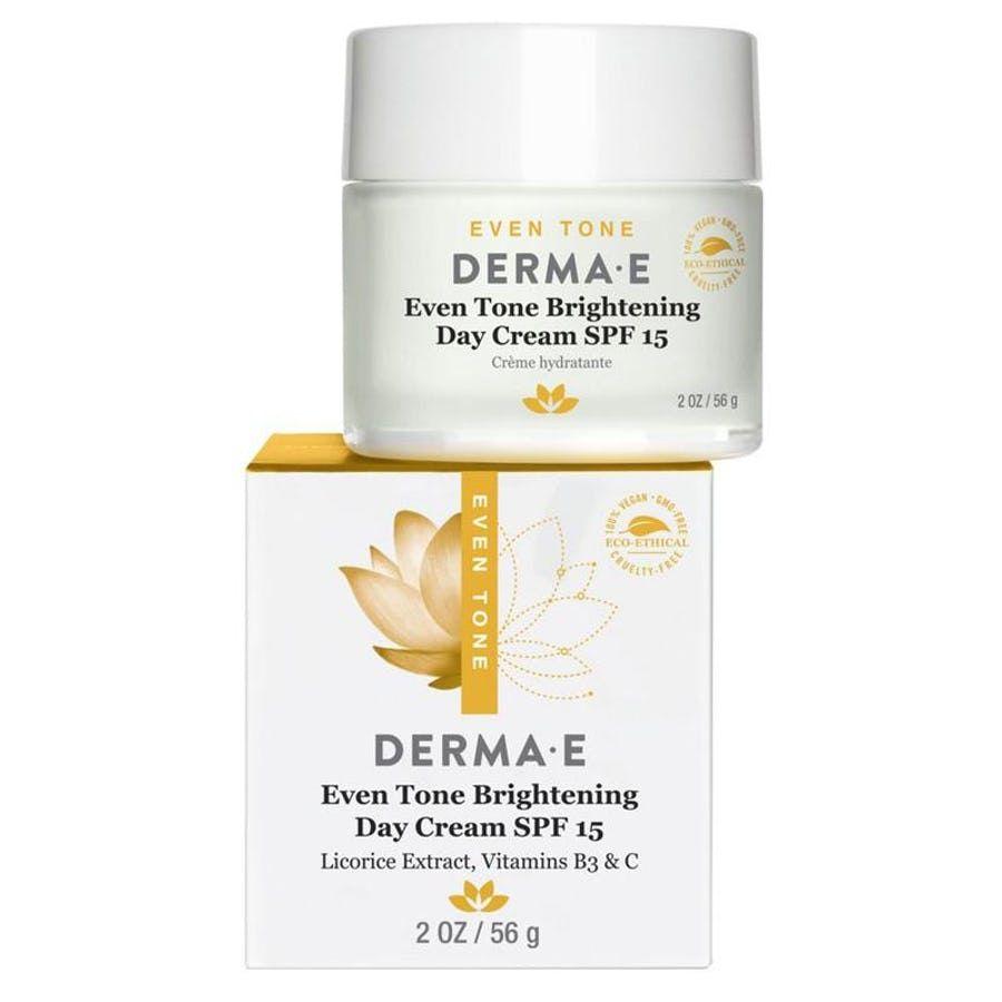 Derma E Derma E Even Tone Brightening Day Cream Spf 15 2 Oz Walmart Com In 2020 Night Creams Night Creme Homemade Wrinkle Cream