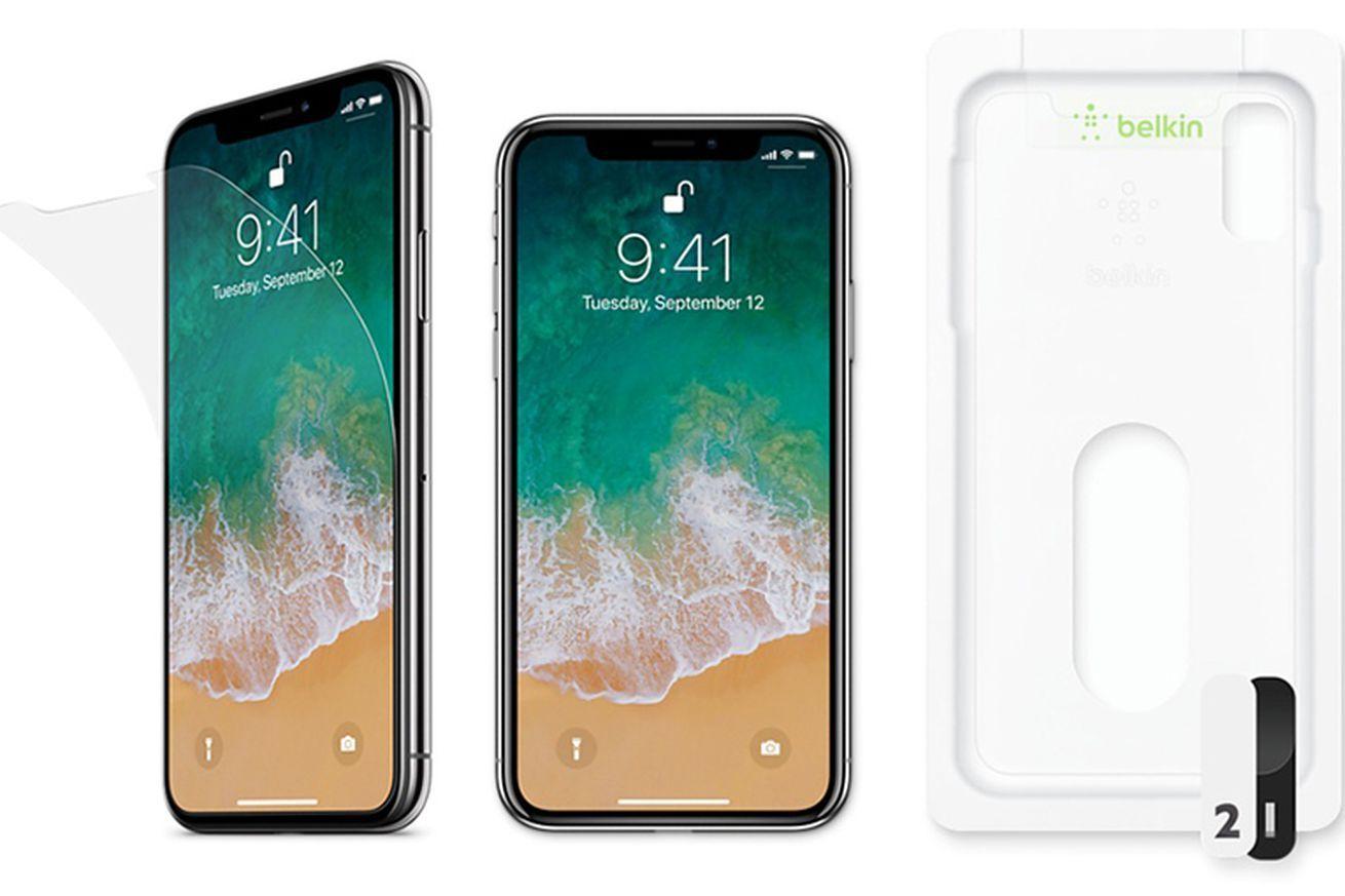 Apple resumes sales of belkins 40 iphone x screen