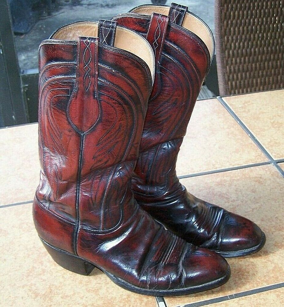 266ec09255e Classic Lucchese Men's Handmade Western Boots 10 EE 4L515 1483 ...