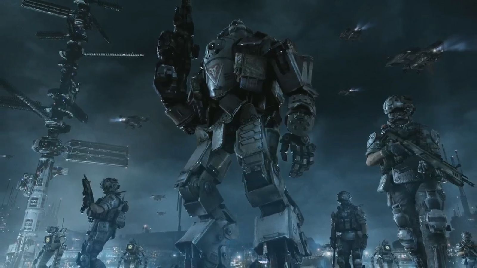 mech warfare art - Google Search | space marines, exosuits, future