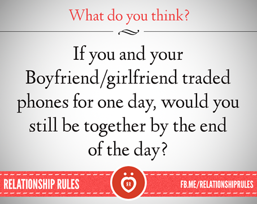 rules to set in a relationship