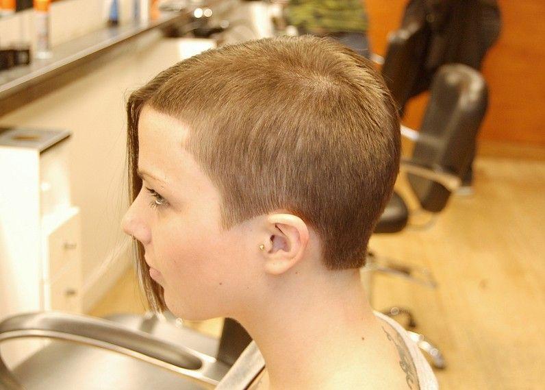 edgy hairstyle: short/long amazing asymmetric trend-setter   short