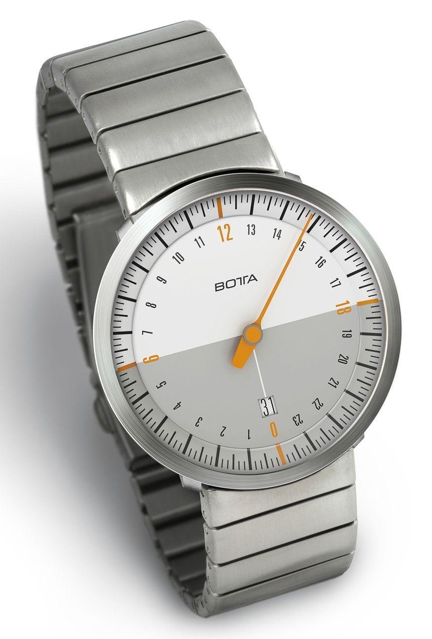 Botta-Design UNO 24 Neo Single Hand Watch - on ...