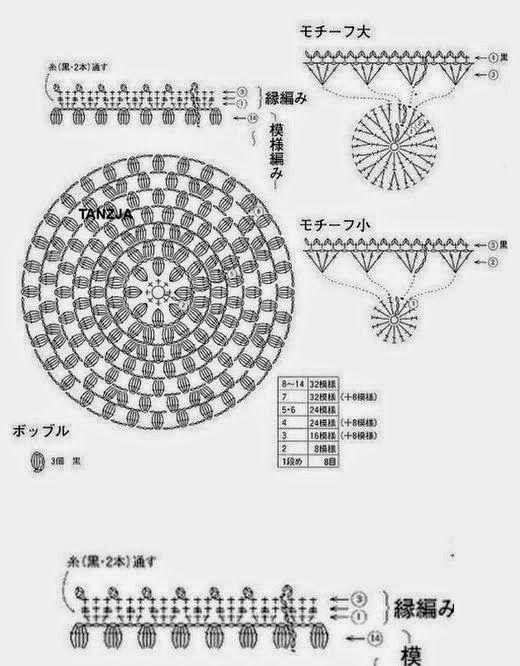 Gorros Tejidos al Crochet - 2 modelos con esquemas | Crochet y dos ...