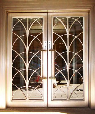 David Cobb Craig: Art Deco Doors In N.Y.C.