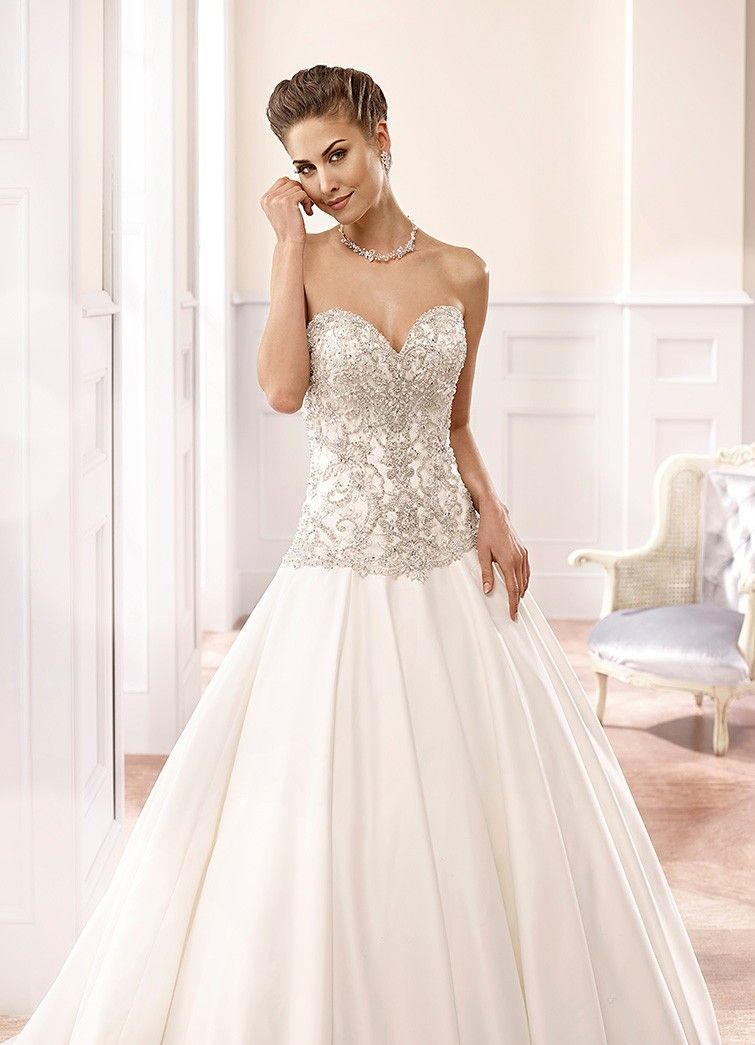 eddy k dress with big and small sequins, sweetheart neckline and short bodice - Google Search