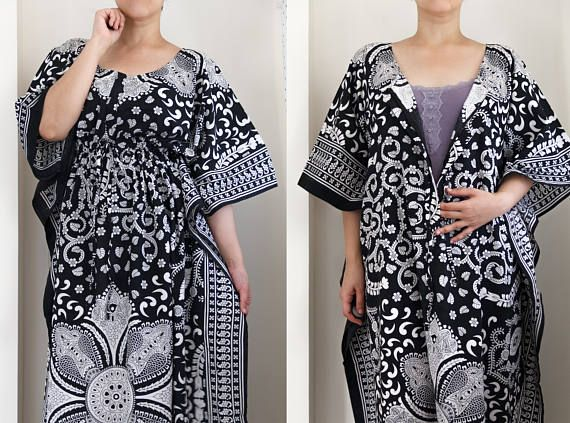 3bda7f5ae24 Nursing Kaftan maxi dress with front zip for ease of breast feeding. Find  this Pin and more on Maternity gowns ...