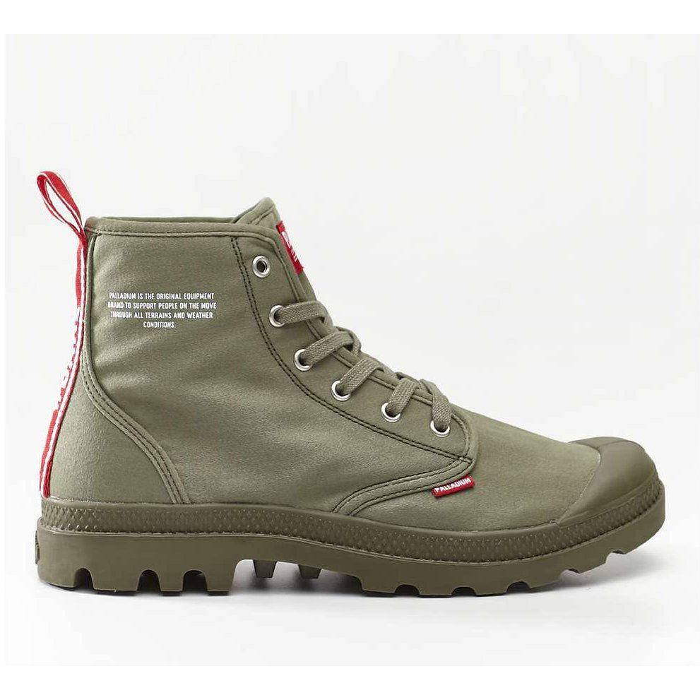 Sportowe Damskie Palladium Palladium Pampa Hi Dare 325 Olive Night Boots Hiking Boots Shoes