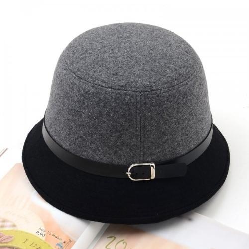 CHICUU - CHICUU Fashion Women Fedora Dome Color Block Belt Headwear Bucket  Hat - AdoreWe. 1cab61f8682c