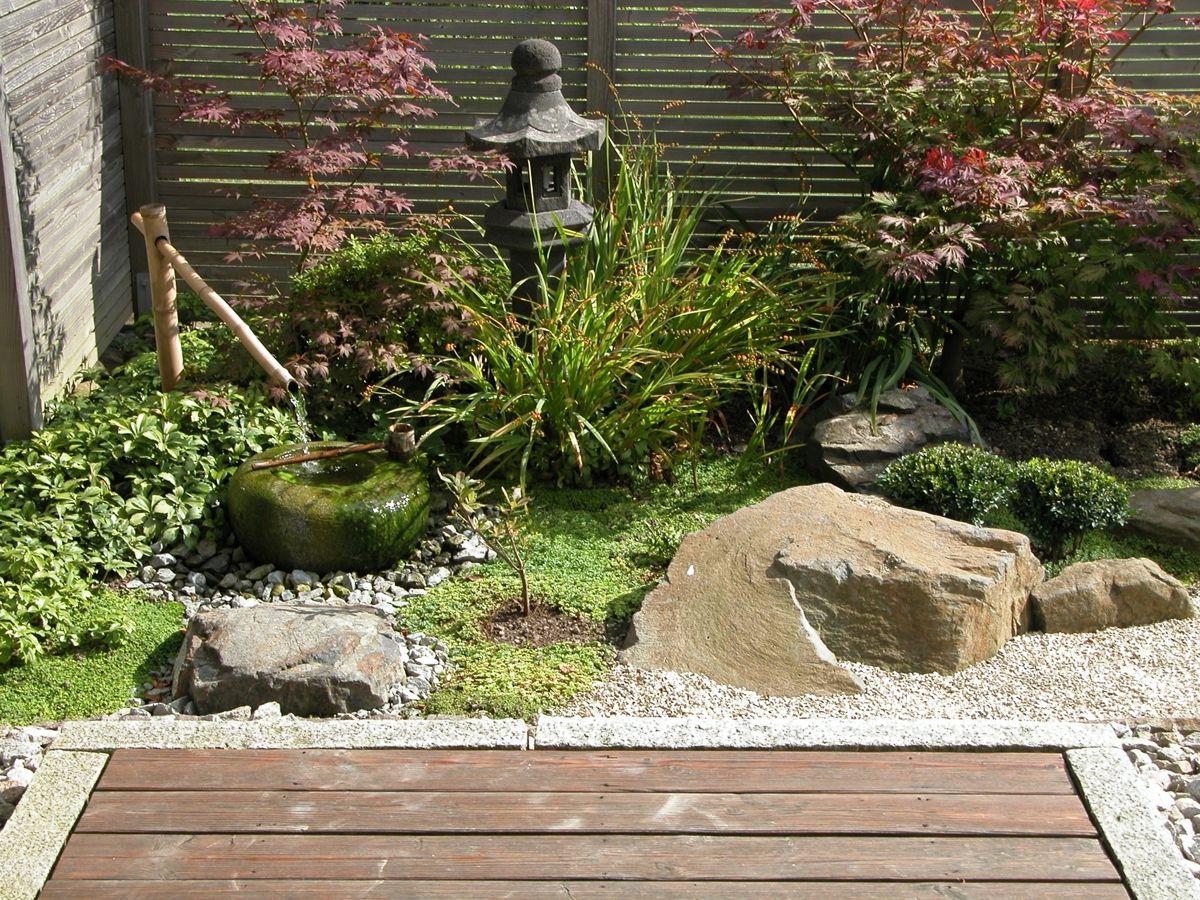 Balkon Japanisch Gestalten Pflanzen Japanischer Garten Japanischer