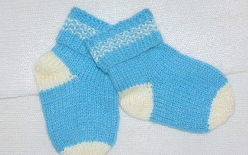 Как связать детские носочки спицами для начинающих | Уроки вязания для начинающих бесплатно. Вязание спицами, крючком.