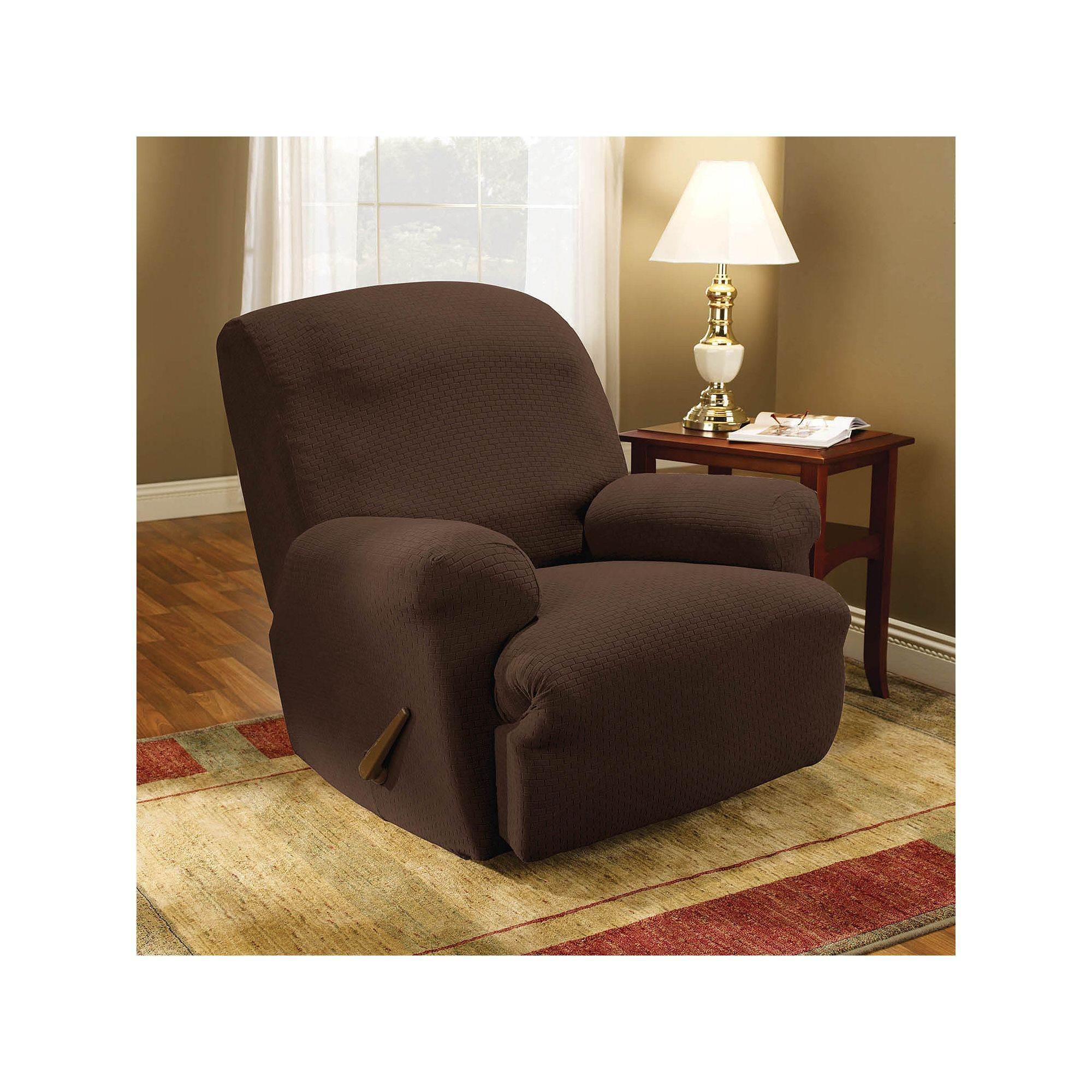 Sure Fit Stretch Subway Recliner Slipcover Slipcovers