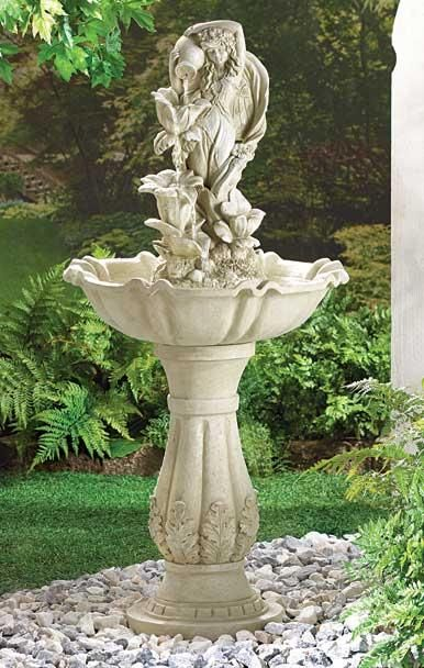 fountains for sale. Fairy Maiden Water Fountain Sale Price: $125.90 Availability: In Stock Prod. Code: 34189 Fountains For