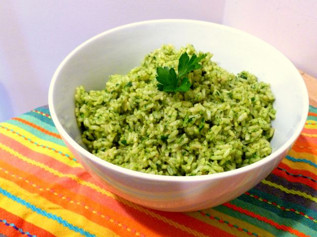 Cilantro Lime Brown Rice I Fresh Pressed Life