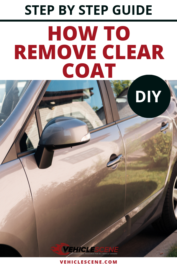 A step by step guide for how to remove clear coat from your car, including what equipment you'll need, and how much you'll pay if you go to a professional.  #carmaintenance #cartips #vehiclehowto #vehiclecare #carexterior