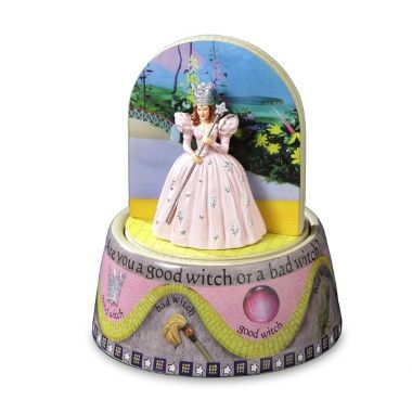 Good Witch/ Bad Witch Rotating Figurine