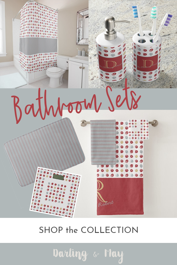 Bathroom Sets Coordinated Accessories Dark Teal Throw Pillows